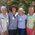 Martha Hackworth, Laverne Kyriss, Melissa White & Joyce Maurizzi: Picnic Committee Members